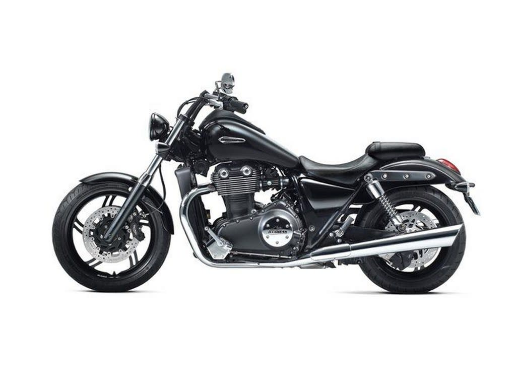 The Triumph Thunderbird Storm is a cruiser motorcycle which uses a 1700cc engine.