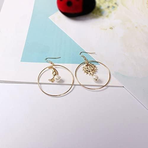 <p>These <span>Sun Moon Asymmetric Pearl Earrings</span> ($10) will elevate any look.</p>