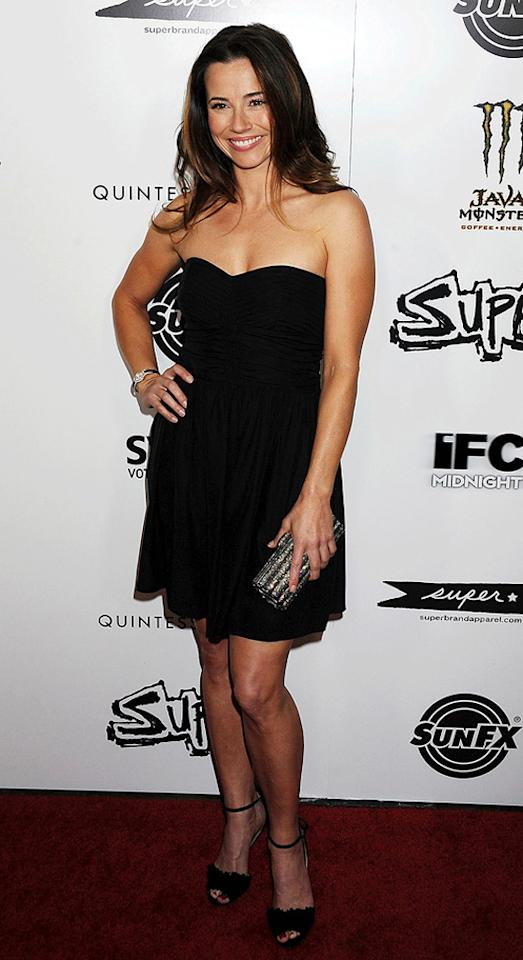 """<a href=""""http://movies.yahoo.com/movie/contributor/1800021170"""">Linda Cardellini</a> at the Los Angeles premiere of <a href=""""http://movies.yahoo.com/movie/1810167552/info"""">Super</a> on March 21, 2011."""