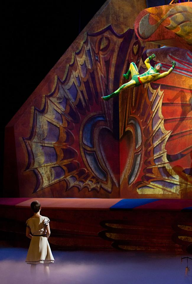 "Still from Paramount Pictures' ""Cirque Du Soleil: Worlds Away 3D"" -2012"