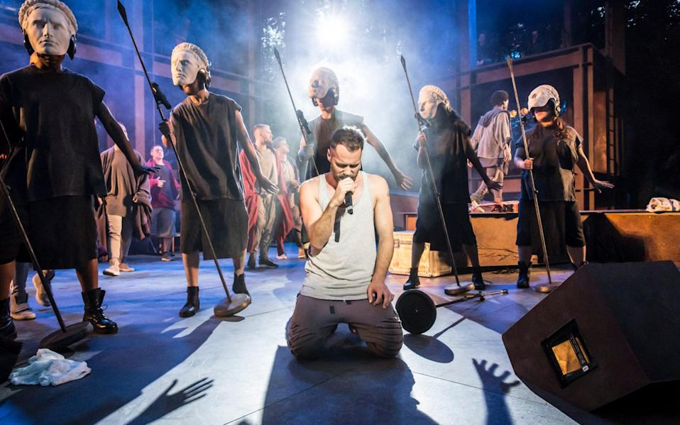 Jesus Christ Superstar was last performed at the Open Air Theatre in 2016 - Johan Persson