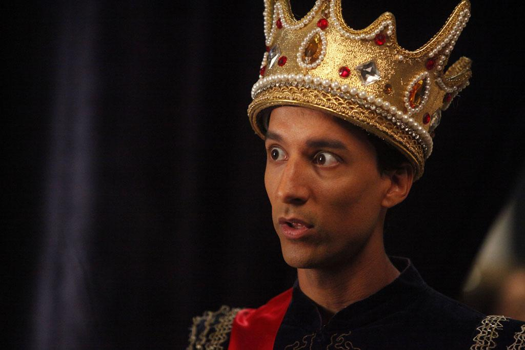 """Danny Pudi as Abed in the """"Community"""" Season 3 episode, """"Regional Holiday Music."""""""