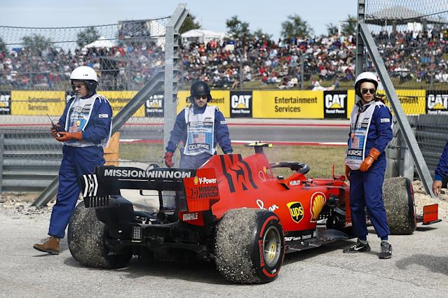 New engine for Leclerc in Brazil, takes grid penalty