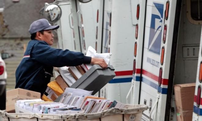 First-class mail volume has dropped by more than 25 percent since 2006.