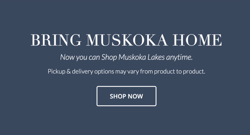 ShopMuskokaLakes.ca was launched in June in the hopes of helping more businesses through the pandemic.