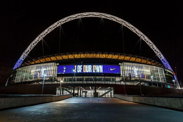 Wembley Stadium could be a regular NFL stop. (Getty)