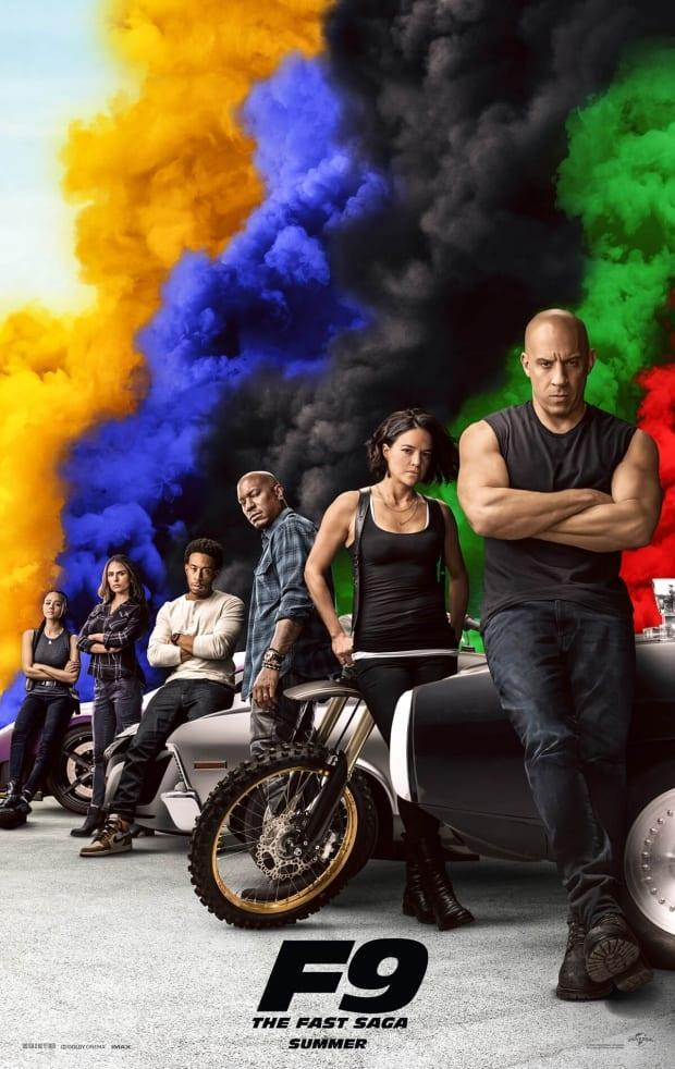 The ninth installment of the Fast and Furious franchise is set to draw audiences back to theatres as pandemic restrictions ease. (Universal Pictures - image credit)
