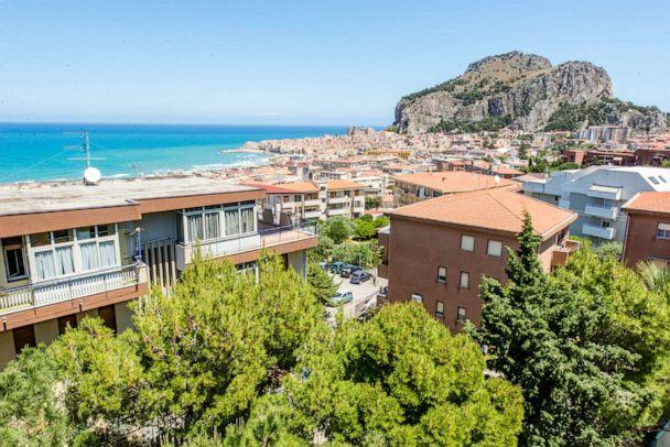 PHOTO: View from Hotel Villa Belvedere, Cefalu. (Oyster.com)