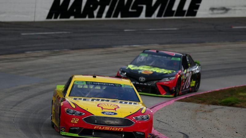 Brad Keselowski takes NASCAR Cup Series race at Martinsville