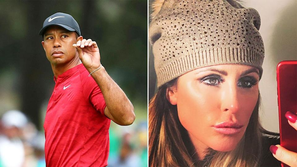 Seen here, Tiger Woods and his former mistress Rachel Uchitel.