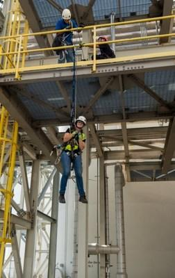 Employees are training to access and inspect offshore wind turbines. (PRNewsfoto/Dominion Energy)