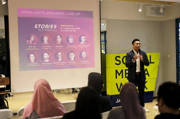 Antonny Liem - Chairman Social Media Week Jakarta - Antonny explains this year's topic of Social Media Week Jakarta 2019
