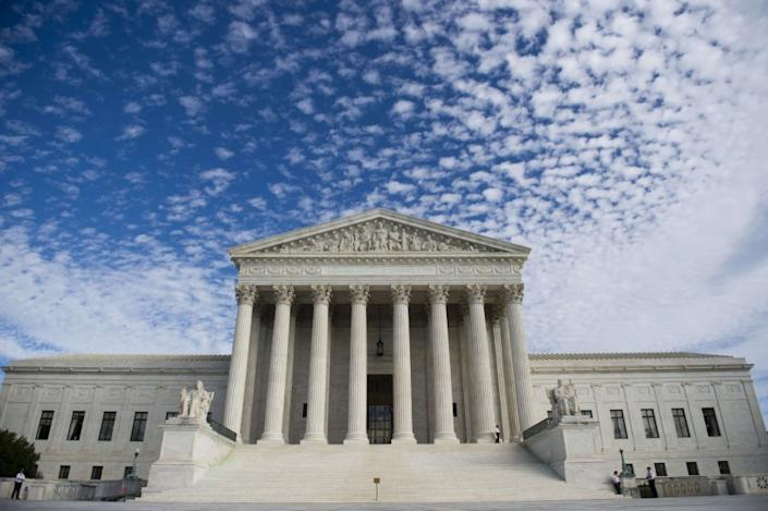 "Supreme Court building in Washington. <span class=""copyright"">(AFP / Getty Images)</span>"