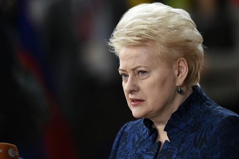"""Lithuania's President Dalia Grybauskaite said it is """"likely"""" that the discovered document is one of the few original copies of the country's 1918 act of independence"""