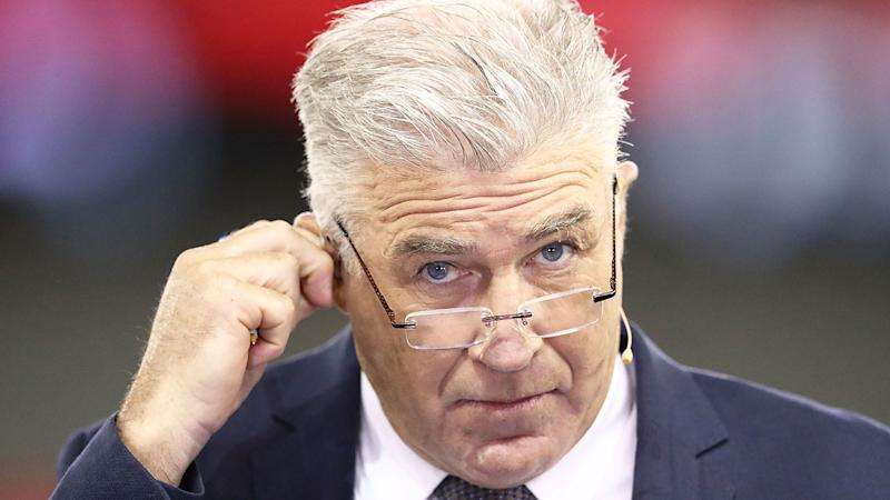 Seen here, Gerard Healy has taken aim at Essendon's training decisions.