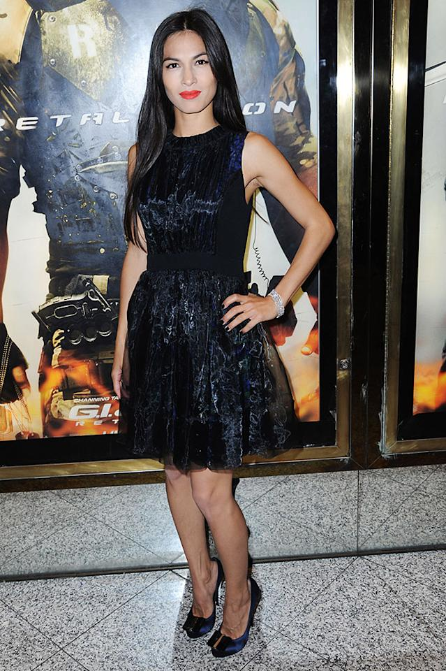 Elodie Yung attends the UK premiere of 'G.I. Joe: Retaliation' at The Empire Leicester Square on March 18, 2013 in London, England.