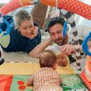 <p>Stassi Schroeder's baby girl Hartford is already a selfie queen, and dad Beau Clark is here for it.</p>