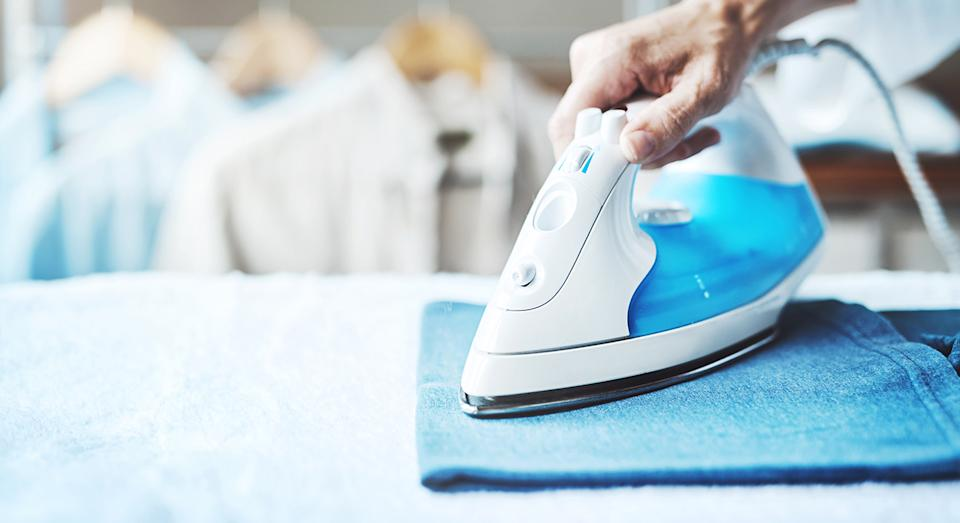 Ironing boards and irons are cumbersome home gadgets, but we have found a compact alternative.  (Getty Images)