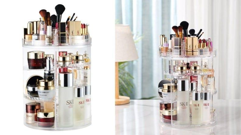 Declutter your vanity without having to throw out your faves.