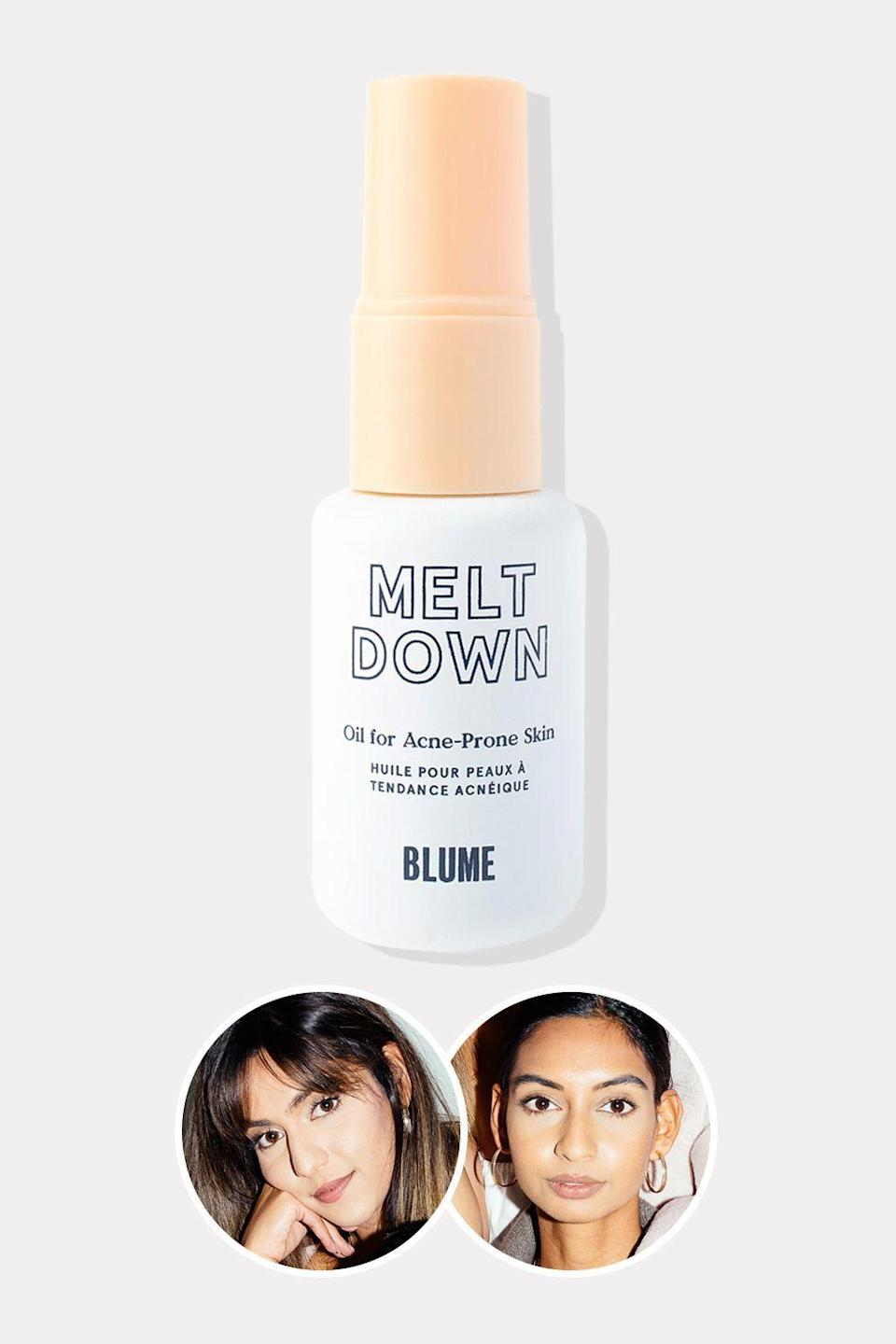 """<p><strong>Blume</strong></p><p>ulta.com</p><p><strong>$28.00</strong></p><p><a href=""""https://go.redirectingat.com?id=74968X1596630&url=https%3A%2F%2Fwww.ulta.com%2Fmeltdown-acne-oil%3FproductId%3Dpimprod2024300&sref=https%3A%2F%2Fwww.oprahdaily.com%2Fbeauty%2Fskin-makeup%2Fg36454382%2Fasian-beauty-brands%2F"""" rel=""""nofollow noopener"""" target=""""_blank"""" data-ylk=""""slk:Shop Now"""" class=""""link rapid-noclick-resp"""">Shop Now</a></p><p>Taran and Bunny Ghatrora—the sisters behind clean beauty and self-care brand Blume—are on a mission to destigmatize menstruation and skin conditions associated with puberty, like acne. How are they doing it? By introducing products like the brand's Cloud 9 Cramp Oil, a blend of soothing essential oils to help minimize period pain and discomfort, and the Meltdown Acne Oil, which combines rosehip, blue tansy, and black seed oils to battle breakouts and nourish—not dehydrate—acne-prone skin. But stuff to buy is just part of the equation: Blume's blog is full of empowering and educational content, with articles on how to build confidence when you have acne and all you need to know about UTIs. </p>"""