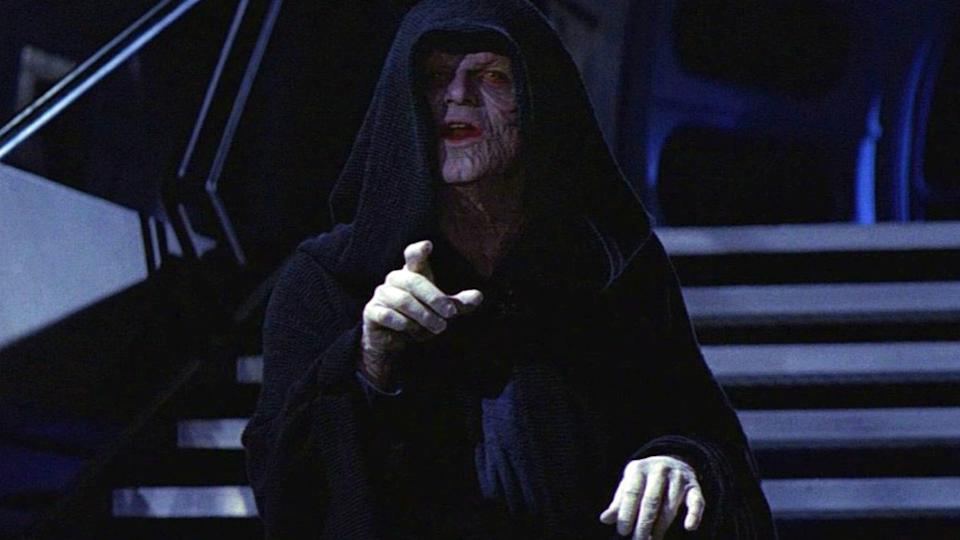 Ian McDiarmid as Emperor Palpatine (credit: 20th Century Fox)