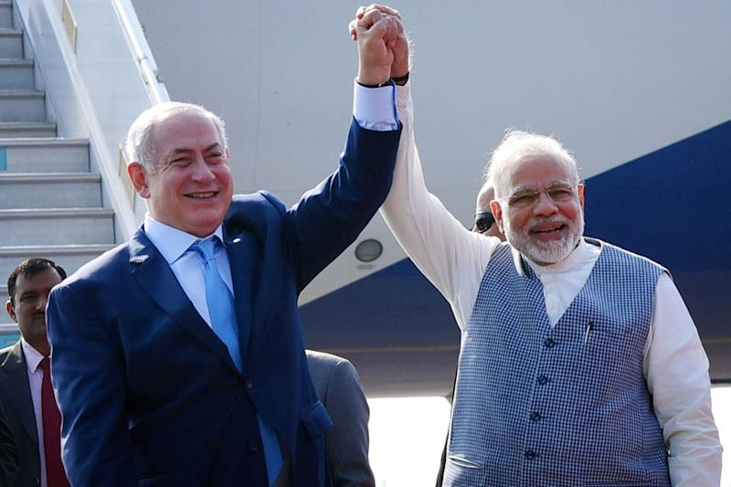 Netanyahu in India LIVE: Ceremonial Reception For Israeli PM at Rashtrapati Bhavan Soon