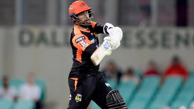 Fawad Ahmed, pictured here in action for the Perth Scorchers.