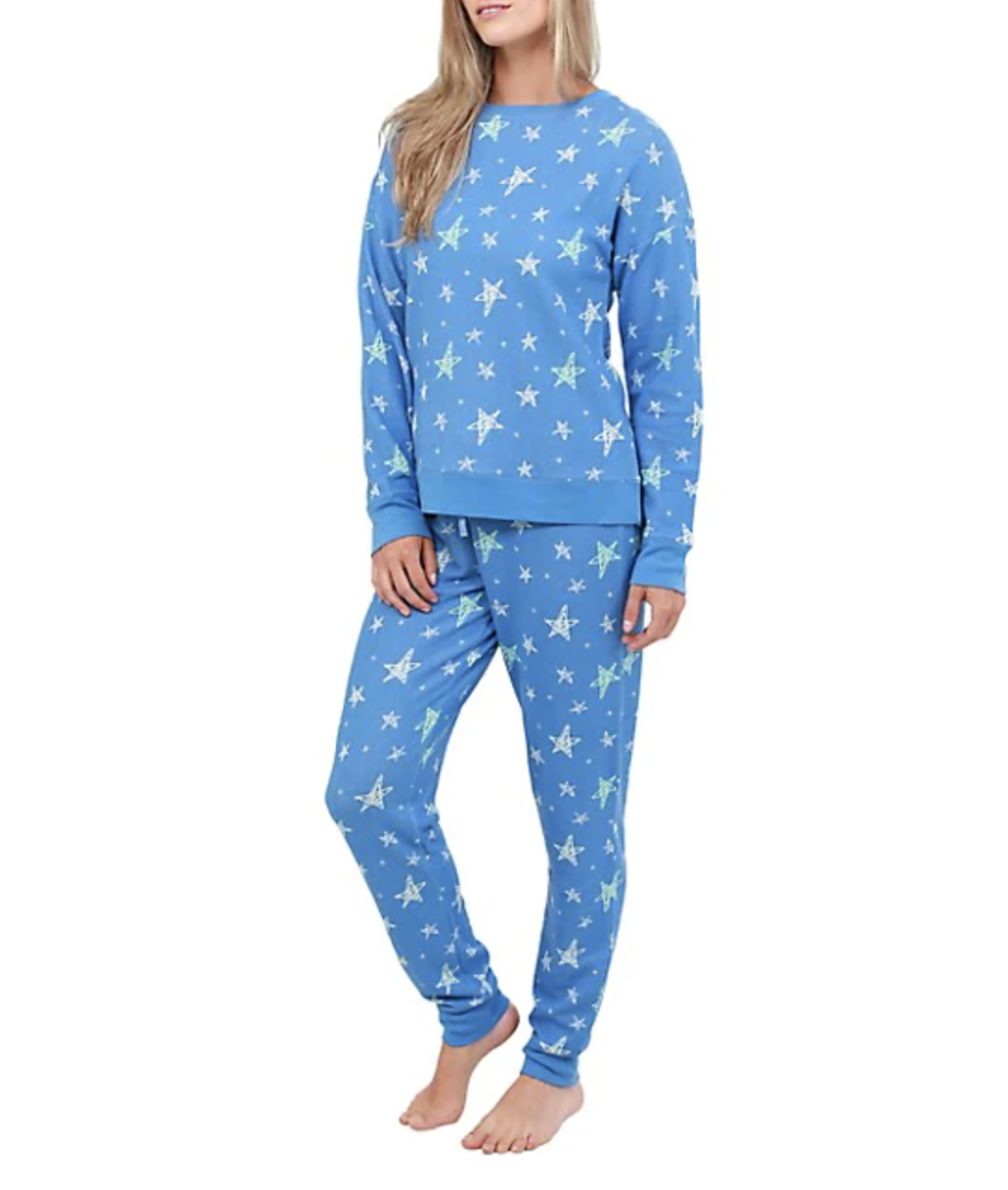 Jasmine Rose 2-Piece Star Top & Joggers Pajama Set is on sale for Black Friday, $41 (originally $69),