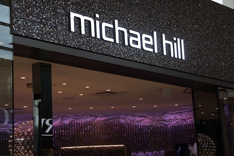 Michael Hill store front. (Source: Getty)