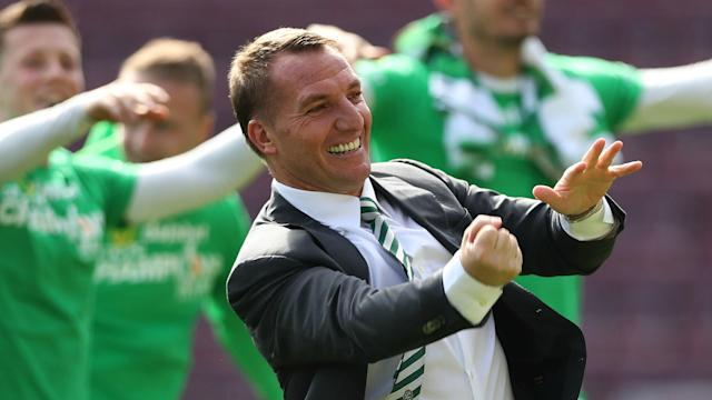 Brendan Rodgers has been rewarded for a fine debut season in charge at Celtic with a new contract that will tie him to the club until 2021