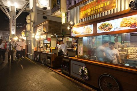 Hawker stalls in Singapore's Chinatown - Credit: istock