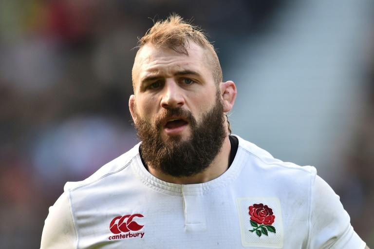 England's prop Joe Marler, pictured in February 2017,  was handed the suspension by an independent Rugby Football Union disciplinary panel
