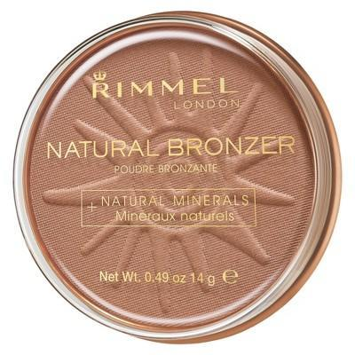 "<h3><strong>Rimmel</strong> Natural Bronzer</h3><br>""This bronzer works beautifully for warming up fair to medium skin tones without looking artificial. The color is a lovely, natural golden brown that's perfect for those who are afraid of bronzers that are too orangey. The formula blends easily and is waterproof, so it's great for those hot summer days."" — <a href=""https://www.instagram.com/elisaflowersmakeup/?hl=en"" rel=""nofollow noopener"" target=""_blank"" data-ylk=""slk:Elisa Flowers"" class=""link rapid-noclick-resp"">Elisa Flowers</a>, makeup artist<br><br><strong>Rimmel</strong> Natural Bronzer, $, available at <a href=""https://go.skimresources.com/?id=30283X879131&url=https%3A%2F%2Fwww.target.com%2Fp%2Frimmel-natural-bronzer-sunlight%2F-%2FA-13991771"" rel=""nofollow noopener"" target=""_blank"" data-ylk=""slk:Target"" class=""link rapid-noclick-resp"">Target</a>"