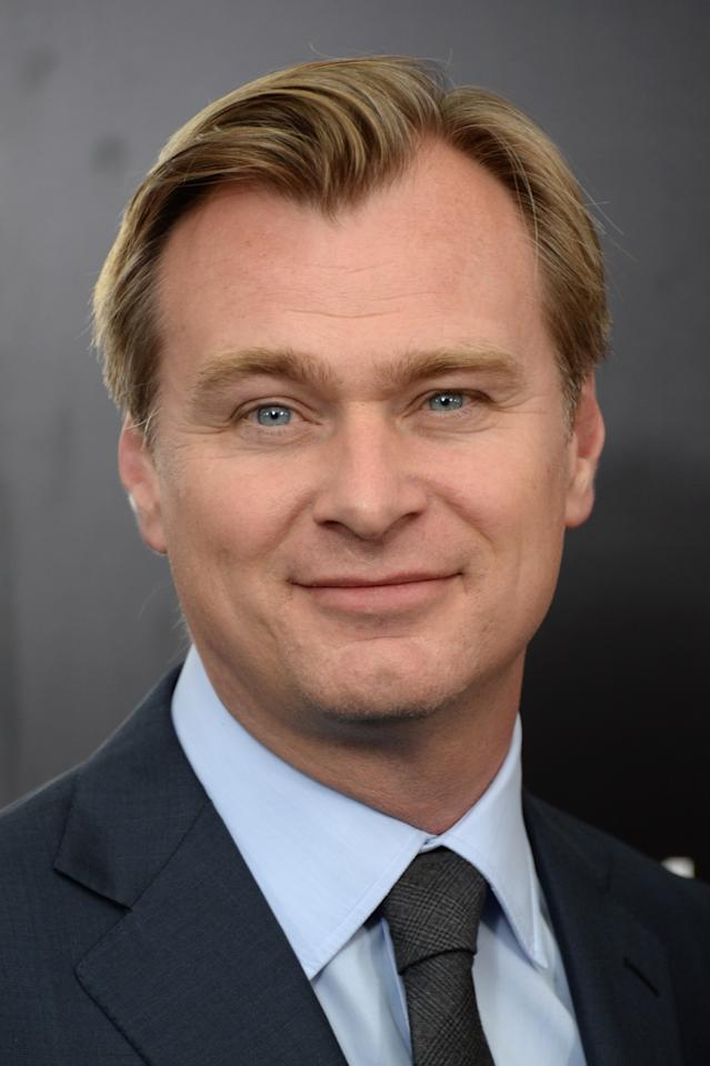 "NEW YORK, NY - JUNE 10: Writer Christopher Nolan attends the ""Man Of Steel"" world premiere at Alice Tully Hall at Lincoln Center on June 10, 2013 in New York City. (Photo by Andrew H. Walker/Getty Images)"
