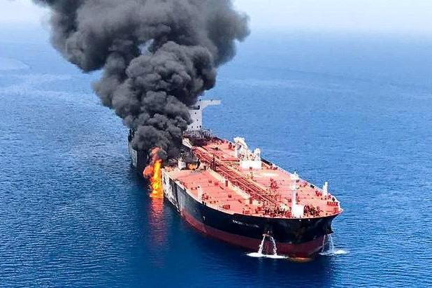 Gulf of Oman oil tanker attack: US accuses Iran of trying to shoot down surveillance drone during suspected attacks