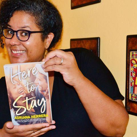 <p>The Afro-Dominicana writes romance novels; many of her protagonists are LGBTQ+ and Afro-Latinx. </p>