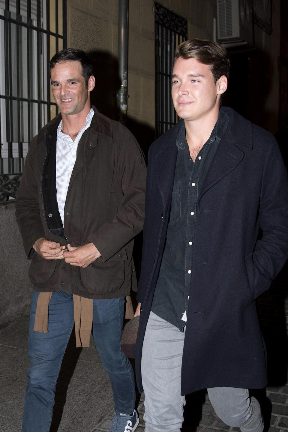 MADRID, SPAIN - NOVEMBER 11: (L-R) Jose Bono Rodriguez and Aitor Gomez are seen on November 11, 2019 in Madrid, Spain. (Photo by Europa Press Entertainment/Europa Press via Getty Images)