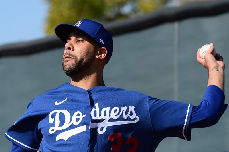 Report: Dodgers P Price gives $1K apiece to team's minor leaguers