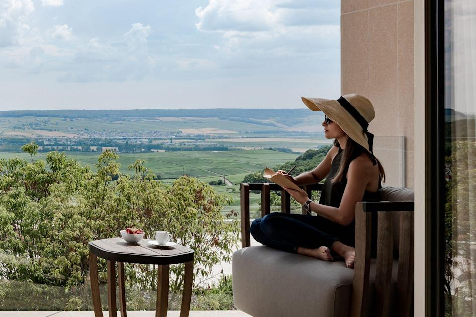 "<p>Get your European wine country fix with the<a href=""https://royalchampagne.com/en/"" rel=""nofollow noopener"" target=""_blank"" data-ylk=""slk:Royal Champagne Hotel"" class=""link rapid-noclick-resp""> Royal Champagne Hotel</a>, which is hosting virtual champagne tastings. A Champagne expert will recommend champagnes to purchase prior to the tasting, and during, your expert will share info about the champagnes and their regions, as well as food pairing ideas. These tastings cost 120 euro for a 1-hour private session on Zoom and are available by reservation @ <a href=""mailto:reservation@royalchampagne.com"" data-ylk=""slk:reservation@royalchampagne.com"" class=""link rapid-noclick-resp"">reservation@royalchampagne.com</a></p>"