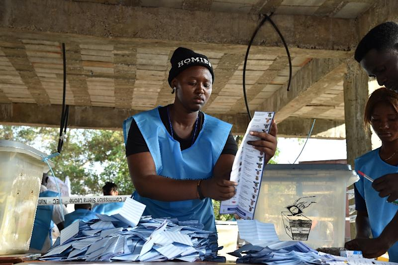 International observers said Sierra Leone's first round of presidential elections was free and fair -- but the runoff vote was troubled by a last-minute complaint of electoral fraud