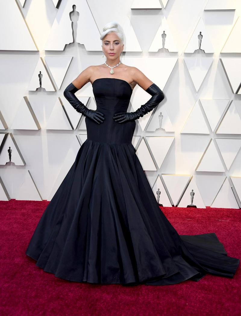 Lady Gaga attends the 2019 Academy Awards in Los Angeles (Getty Images )