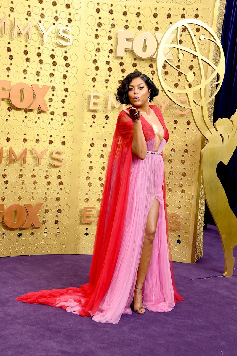 Taraji P. Henson attends the 71st Emmy Awards at Microsoft Theater on September 22, 2019 in Los Angeles, California. (Photo: Steve Granitz via Getty Images)