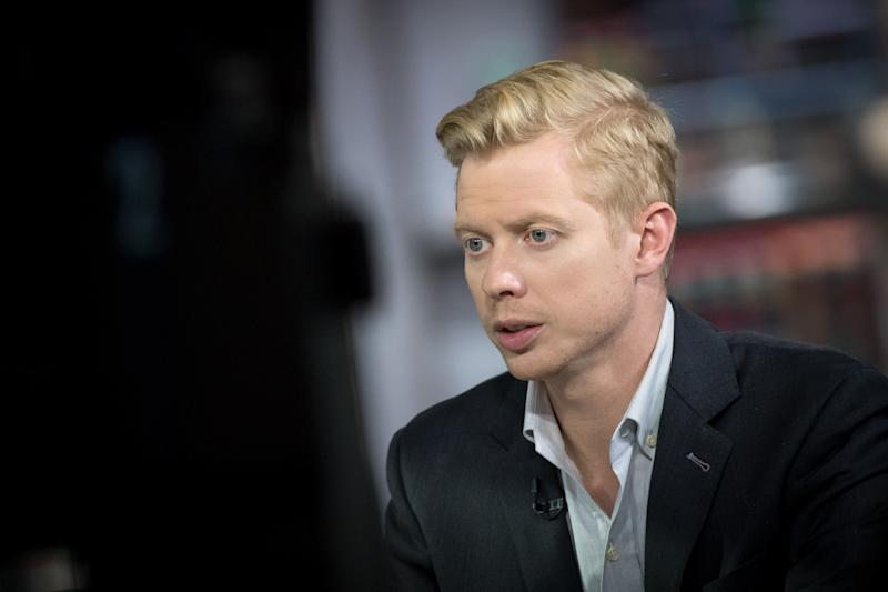 Steve Huffman, co-founder and chief executive officer of Reddit Inc., pictured in San Francisco, California, U.S., on Thursday, Dec. 14, 2017.