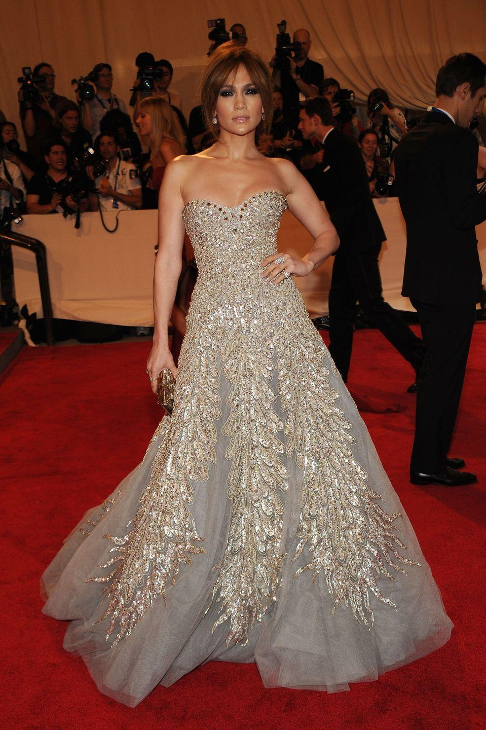 <p><strong>When: </strong>May 2010</p><p><strong>Where: </strong>The Met Gala</p><p><strong>Wearing: </strong>Zuhair Murad</p>