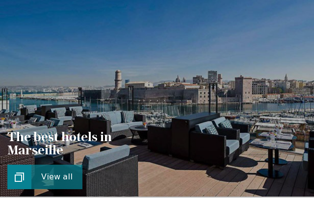The best hotels in Marseille