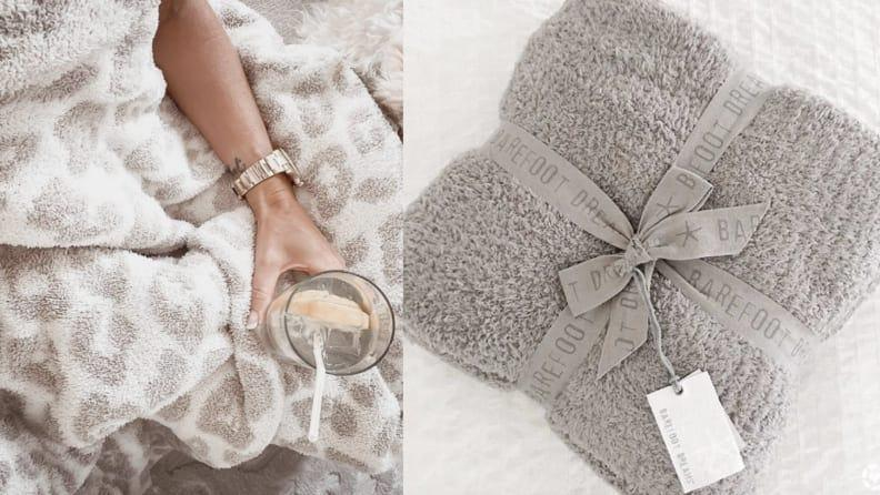 Best gifts for sisters 2021: Barefoot Dreams Throw Blanket