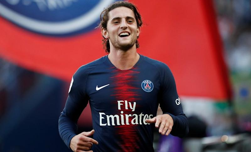 File image of Adrien Rabiot. Reuters
