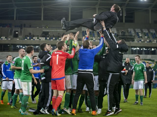 Soccer – UEFA European Championship Qualifying – Group F – Northern Ireland v Greece – Windsor Park