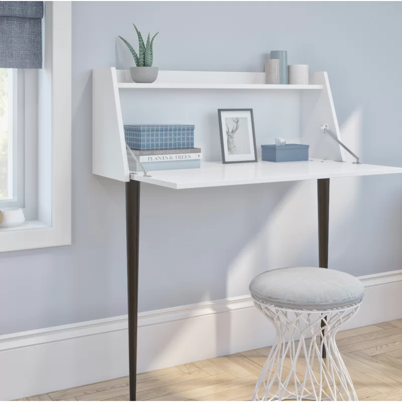 "<h3>Corrigan Studio Quinnlynn Secretary Desk</h3><br>This streamlined secretary anchors to your wall and neatly stores all of your productive essentials. <br><br><strong>Corrigan Studio</strong> Quinnlynn Secretary Desk, $, available at <a href=""https://go.skimresources.com/?id=30283X879131&url=https%3A%2F%2Fwww.wayfair.com%2Ffurniture%2Fpdp%2Fcorrigan-studio-quinnlynn-secretary-desk-w003074415.html"" rel=""nofollow noopener"" target=""_blank"" data-ylk=""slk:Wayfair"" class=""link rapid-noclick-resp"">Wayfair</a>"