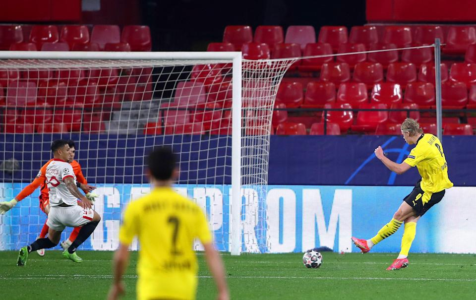 Haaland excelled for Dortmund on WednesdayGetty Images